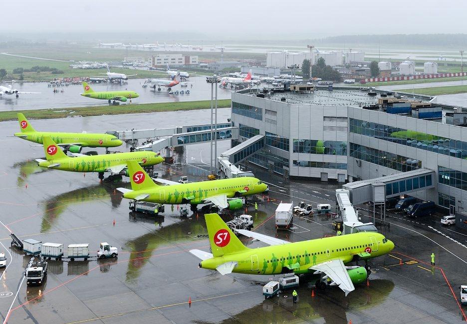 Флот авиакомпании S7 Airlines насчитывает 92 самолета